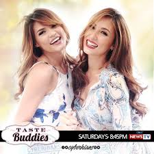I wrote for Taste Buddies, hosted by Solenn Heussaff & Rhian Ramos.