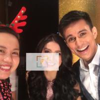 With Carla Abellana Tom Rodriguez. 2017 GMA Christmas Special