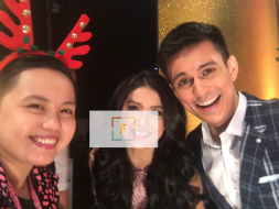 With Carla Abellana Tom Rodriguez. 2017 GMA Christmas Special