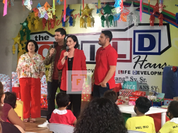 Kapuso outreach at Manila's Child Haus
