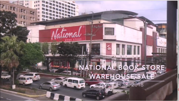 National Book Store Warehouse Sale 2018. Vlogging. Quezon Avenue. Lots of books. Discount. Sale. Promo.