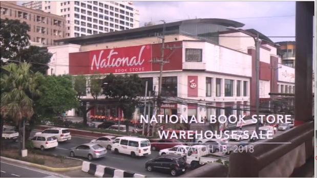 National Book Store Warehouse Sale 2018. Vlogging. Quezon Avenue. Lots of books. Discount. Sale. Promo.