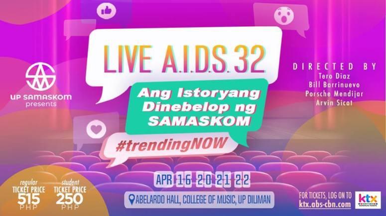 UP Live Aids Samaskom 32 trending