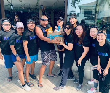 Kumu Team Building last February